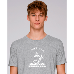 """T-SHIRT HOMME """"PYRAMIDE""""▐..."""